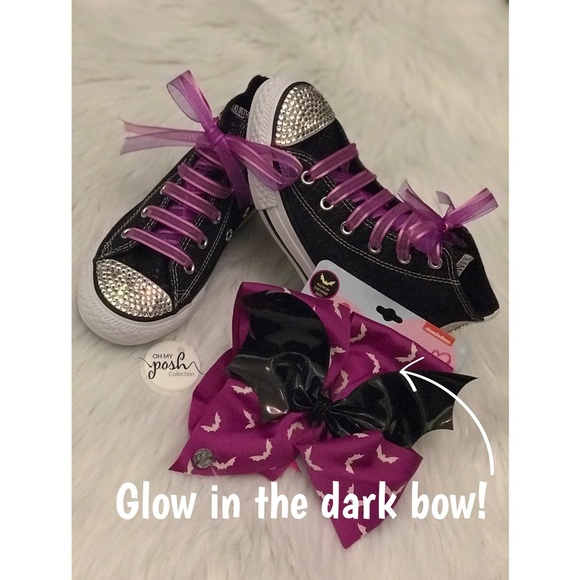 NWT JoJo Siwa Halloween glow in dark set. NWT. Converse 99ce1bbb8